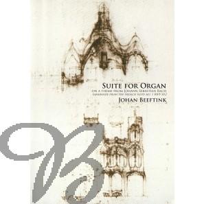 Suite for organ on a theme from Johann Sebastian Bach