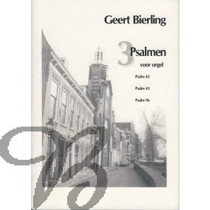 3 Psalmen voor orgel (42-43-96)