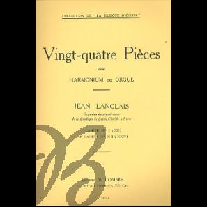 Vingt-quatre Pièces pour Harmonium ou Orgue, vol. 1