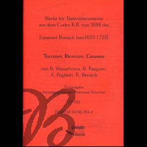 Werke für Tasteninstrumente aus dem Codex E.B.