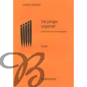 De jonge organist 1 - Iedema, Harke (*1940)