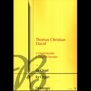 5 Orgelchoräle (1961)