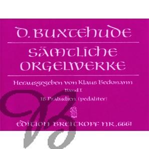 Sämtliche Orgelwerke, Band 1