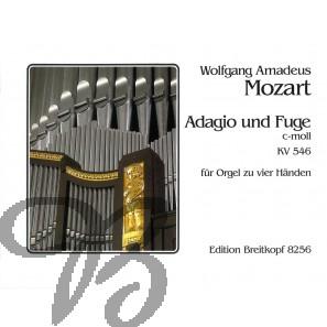 Adagio und Fuge c-moll KV 546 für Orgel zu 4 Händen