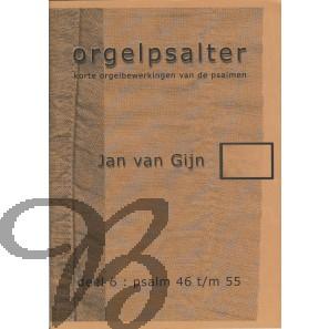 Orgelpsalter deel 6 (Psalm 46 t/m 55)