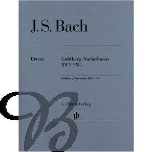 Goldberg Variations, BWV 988 (with fingering)