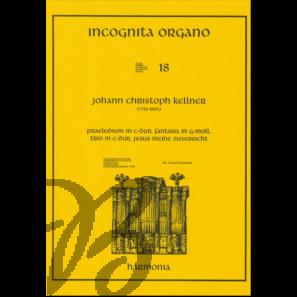 Praeludium in C-Dur, Fantasia in g-moll, Trio in C-Dur, Jesus meine Zuversicht