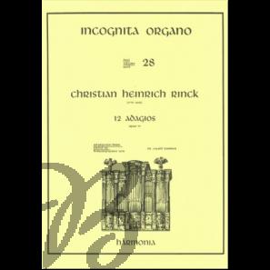 12 Adagio's, op. 57