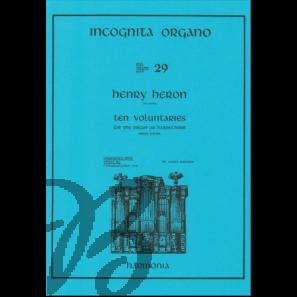 Ten Voluntaries for the organ or harpsichord
