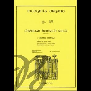 3 Choral Partitas