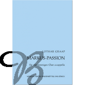 Markus Passion für SATB-chor