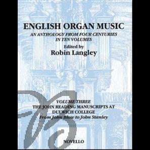 English Organ Music Vol. 3
