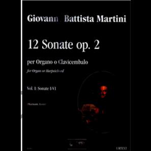 12 Sonate op.2 vol.1 - Martini, Giovanni Batista (1706-1784)