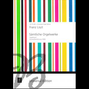 Sämtliche Orgelwerke (Supplement)