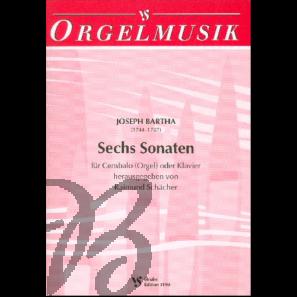 6 Sonaten für Cembalo (Orgel) oder Klavier