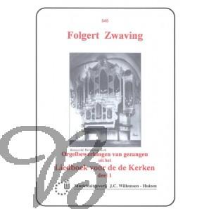 Orgelbewerkingen van Gezangen LvdK dl.1