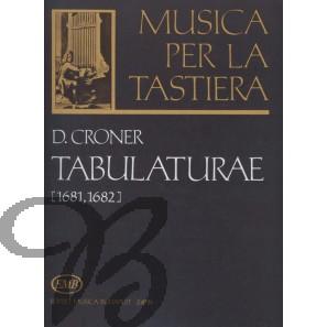 Tabulaturae (1681, 1682)