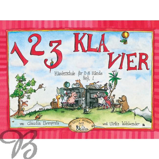 123 Klavier Klavierschule für 2 8 Hände Heft 1 it CD zu Heft 1 und 2 EB 8619 PDF Epub-Ebook