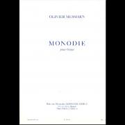 Monodie pour orgue