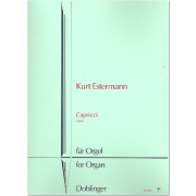 Capricci für Orgel