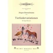 Tierliedervariationen für Orgel