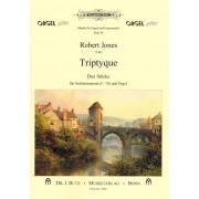 Triptyque - Drei Stücke für Soloinstrument (C/B) und Orgel