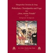 """Präludium, Choralpartita und Fuge über """"Jesu, meine Freude"""", op. 63"""