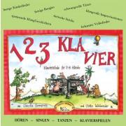 123 Klavier - Klavierschule für 2-8 Hände, CD zu Heft 1 und 2