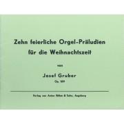 Zehn feierliche Orgel-Präludien für die Weihnachtszeit op.189