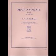 Micro Sonate en trio, op.11
