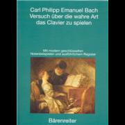 Versuch über die wahre Art das Clavier zu spielen - Bach, Carl Philipp Emmanuel (1714 - 1788)