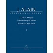 l'Oeuvre d'Orgue I - Alain, Jehan (1911-1940)