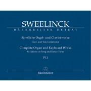 Sämtliche Orgel- und Clavierwerke IV.1: Lied- und Tanzvariationen (Teil 1)