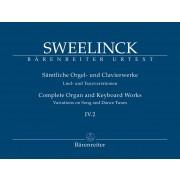 Sämtliche Orgel- und Clavierwerke IV.2: Lied- und Tanzvariationen (Teil 2)