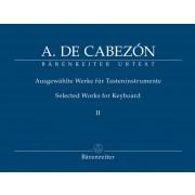 Ausgewählte Werke für Tasteninstrumente II