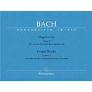 Bach - Orgelwerke 3 (Bärenreiter) - Bach, Johann Sebastian (1685-1750)