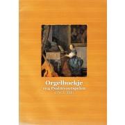 Orgelboekje - 104 Psalmvoorspelen (facsimilé)