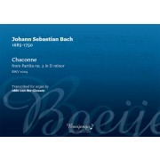 Chaconne, BWV 1004 (from Partita no. 2 in D minor)