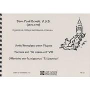 Suite liturgique pour Pâques / Toccata / Offertoire - Bénoit, Dom Paul (1893-1979)