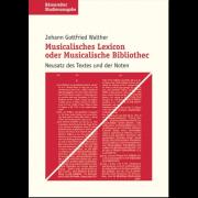 Musicalisches Lexicon oder Muscalische Bibliothec