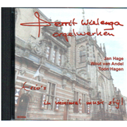 Gerrit Wielenga - Orgelwerken: Trios in minimal music style CD - Collection,