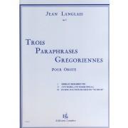 Trois Paraphrases Grégoriennes, op. 5