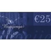 Cadeaubon 25 euro / Gift Card 25 euro