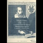 """12 geistliche Lieder für Orgel aus """"Hertzen-trosts-musica"""""""