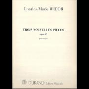 Trois Nouvelles Pièces op.87