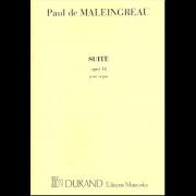 Suite opus 14 pour orgue