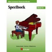 Hal Leonard Pianomethode, Deel 4 - Speelboek