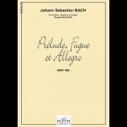 Prélude, fugue et allegro BWV 998