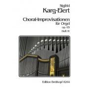 Choral-Improvisationen op. 65, Heft 4
