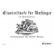 Clavierstücke für Anfänger